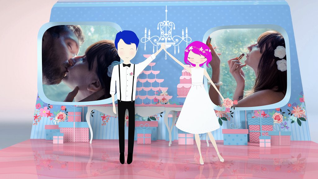Happy Wedding Video & ビデオグラフィ 結婚式オープニングムービー ポップアルバム Ver2 013