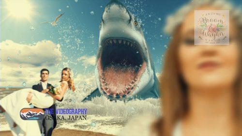 Parody Movie@Jaws / 海外映画「Jaws」風のオープニング映像・パロディムービー@結婚式/披露宴/パーティー動画・サンプル写真002