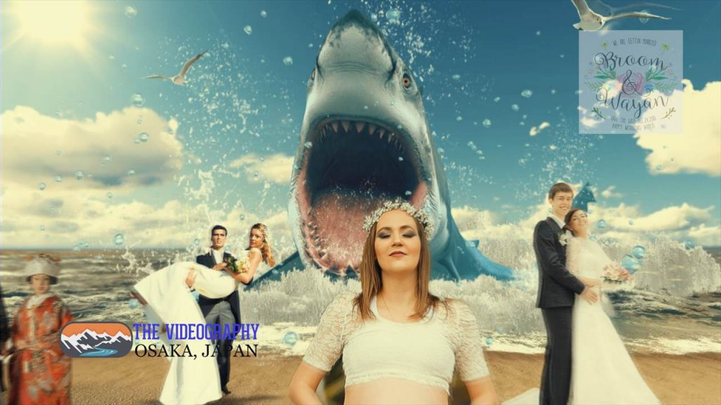 Parody Movie@Jaws / 海外映画「Jaws」風のオープニング映像・パロディムービー@結婚式/披露宴/パーティー動画・サンプル写真003
