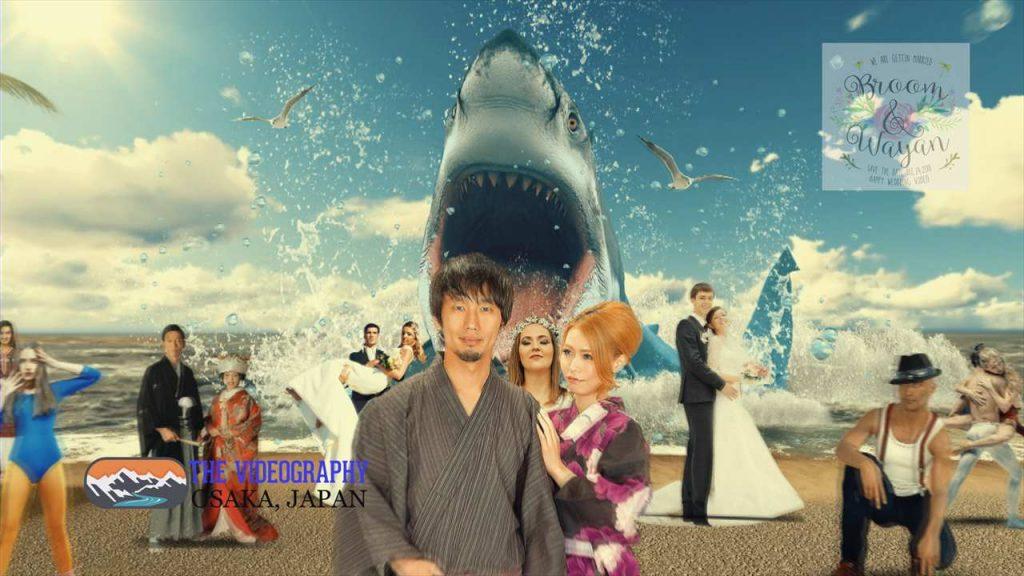 Parody Movie@Jaws / 海外映画「Jaws」風のオープニング映像・パロディムービー@結婚式/披露宴/パーティー動画・サンプル写真004