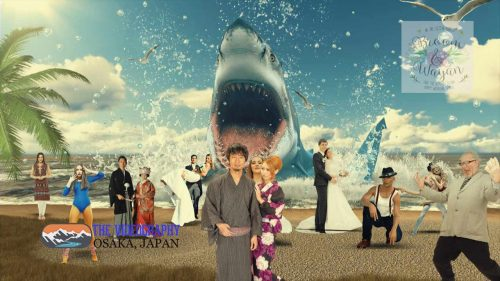 Parody Movie@Jaws / 海外映画「Jaws」風のオープニング映像・パロディムービー@結婚式/披露宴/パーティー動画・サンプル写真005
