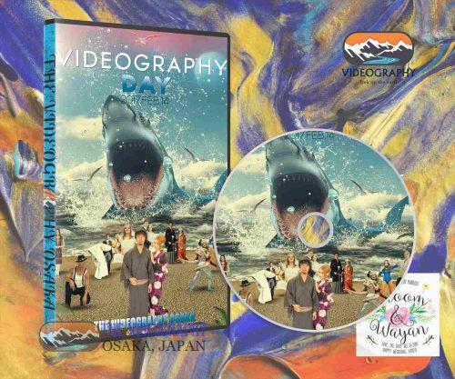 映画ジョーズ・パロディ動画版DVDパッケージデザイン/ジャケットカバー