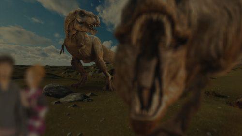 パロディ動画:ティラノサウルス/TREX・海外映画「ジュラシック・パーク」風オープニング映像・サンプルPhoto001