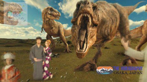 パロディ動画:ティラノサウルス/TREX・海外映画「ジュラシック・パーク」風オープニング映像・サンプルPhoto002