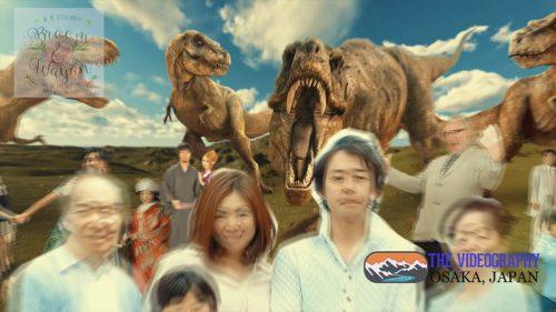 パロディ動画:ティラノサウルス/TREX・海外映画「ジュラシック・パーク」風オープニング映像・サンプルPhoto003