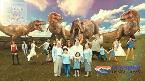 パロディ動画:ティラノサウルス/TREX・海外映画「ジュラシック・パーク」風オープニング映像・サンプルPhoto004