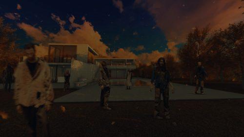 ゾンビムービー・The Walking Dead ウォーキング・デッドのオープニングパロディムービー用サンプル写真001