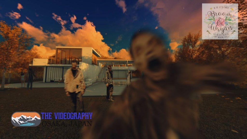 ゾンビムービー・The Walking Dead ウォーキング・デッドのオープニングパロディムービー用サンプル写真002