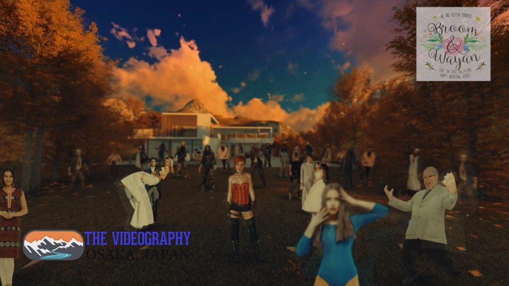 ゾンビムービー・The Walking Dead ウォーキング・デッドのオープニングパロディムービー用サンプル写真003