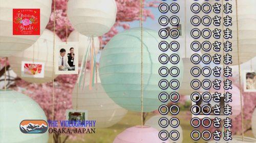 エンド・クレジット・ロールムービー for 結婚式/披露宴/各種パーティー